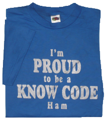 Know Code T-Shirt Front