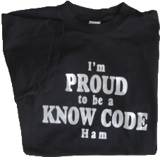 Black Know Code T-Shirt Front